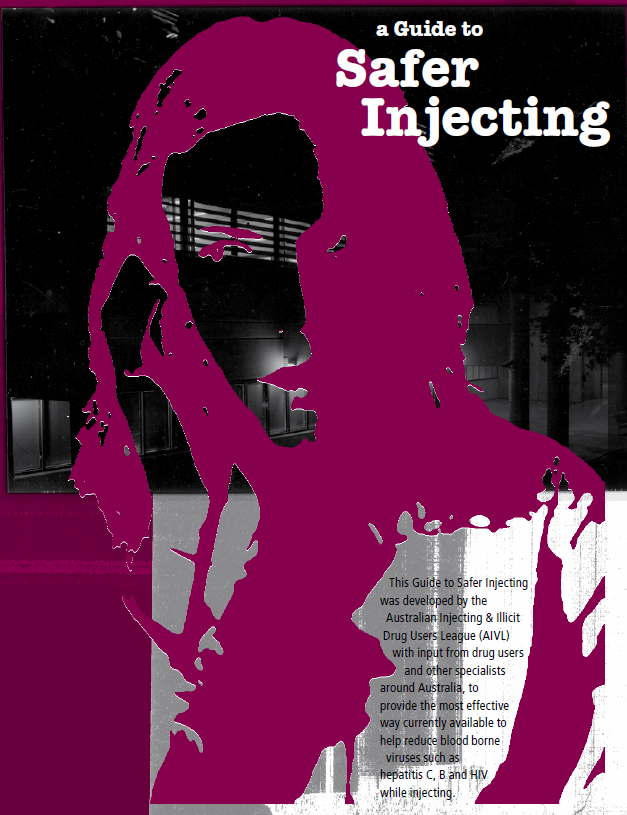 A Guide to Safer Injecting | Australian Injecting and Illicit Drug ...