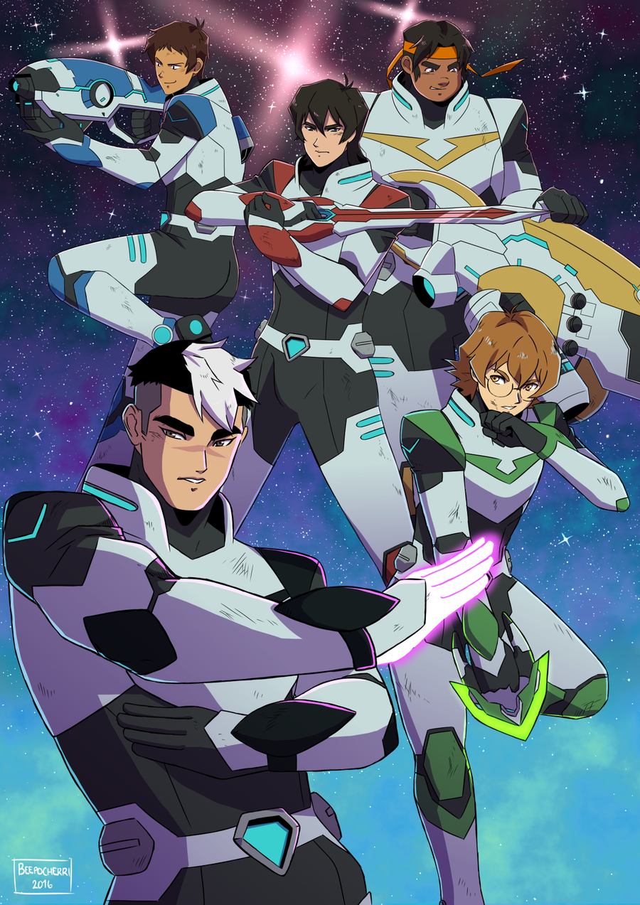 Voltron Legendary Defender Images Reveal the New Team Collider