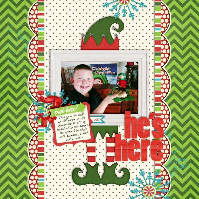 Sweet Shoppe Designs::Digital Scrap Kits::Son of a Nutcracker by Shawna Clingerman & Libby Pritchett