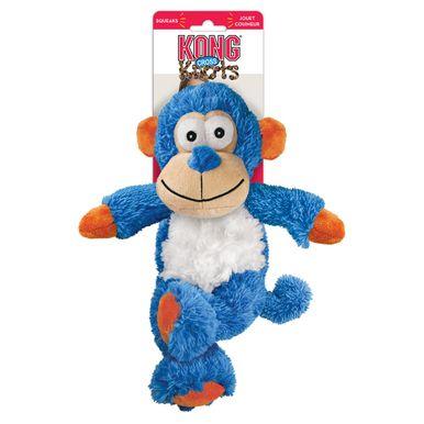 Kong Cross Knots Monkey Internal Knotted Durable Soft Interactive