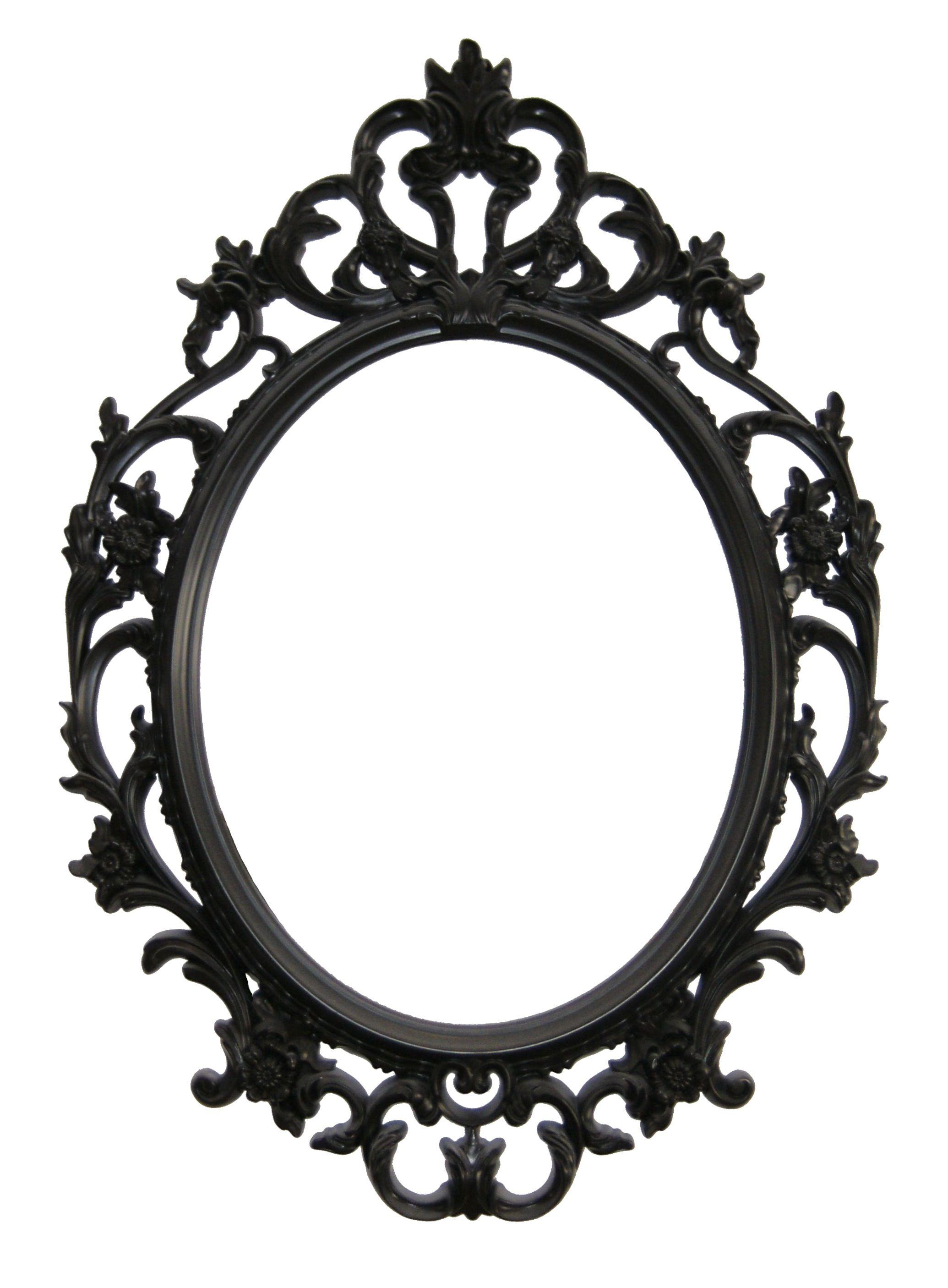Mirror with barroc frame // Espejo con marco de estilo barroco ...