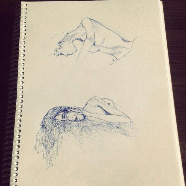 """#art #bolígrafo """"Las fases del despertar""""."""