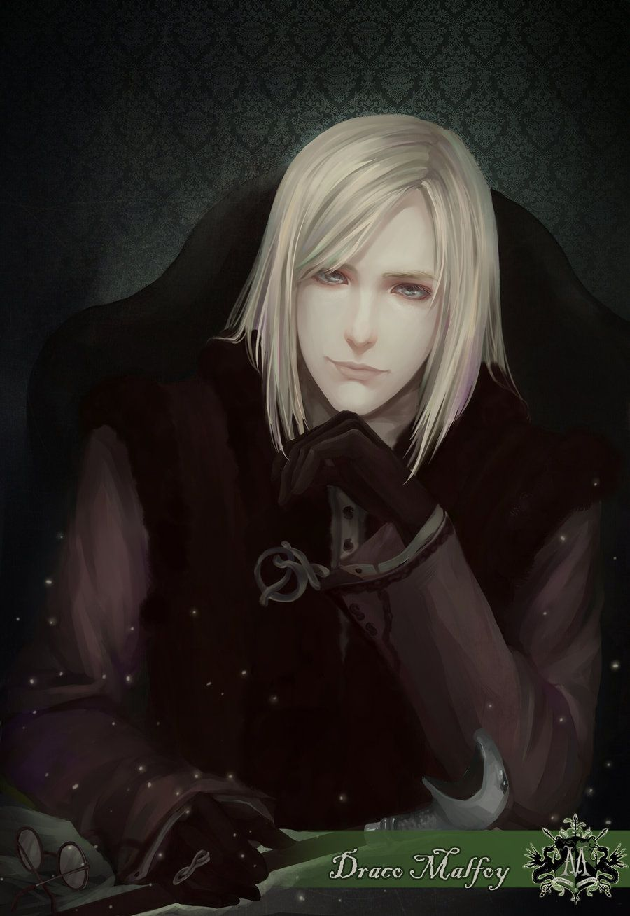 Draco Malfoy With Long Hair By Aprilis420 On Deviantart Long Hair Styles Draco Malfoy Fanart Long Hair Styles Men