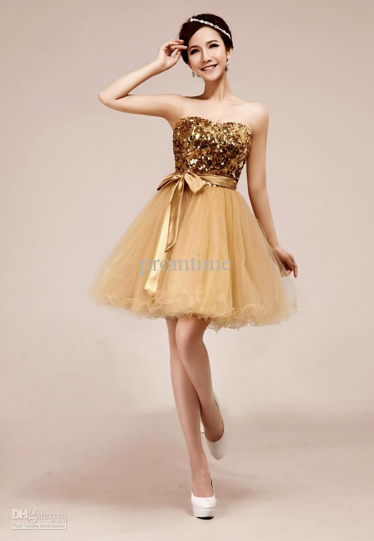 Hot sale sweetheart shining gold sequins sash sexy short mini prom hot sale sweetheart shining gold sequins sash sexy short mini prom dresses cocktail gown 2013 pretty graduation dresses ceremony dress pd336 ombrellifo Choice Image