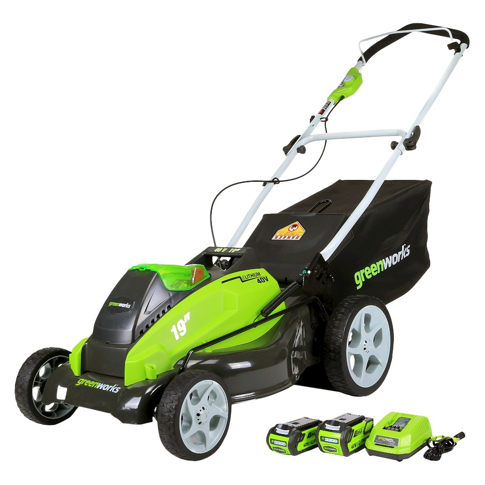 Mow Cut And Trim Like A Champ With This Cordless Lawn Mower From