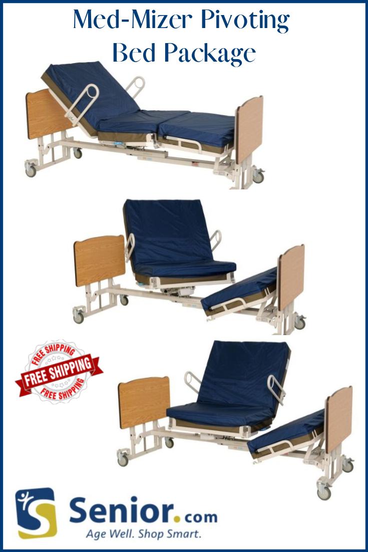 MedMizer Stand Assist Pivot Turn Adjustable Bed Package