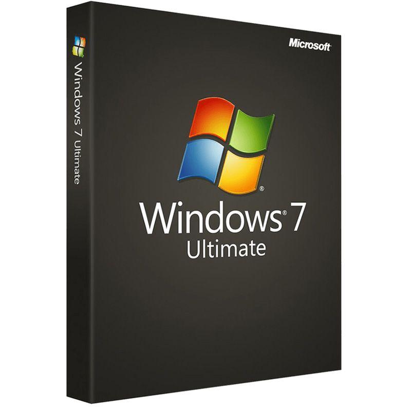 Windows 7 Ultimate 32 Bit 64 Bit Microsoft Windows Microsoft Microsoft Software
