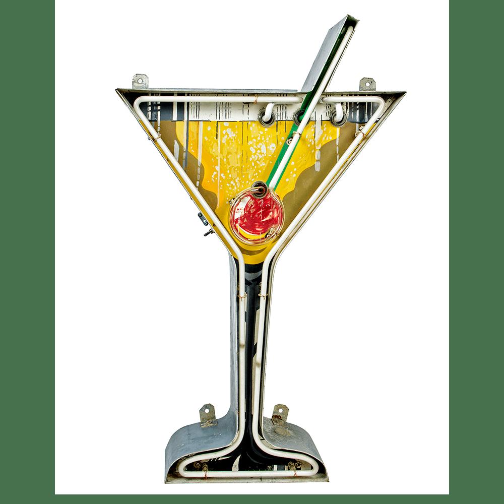 Original 1950s Martini Cocktail Neon Bar Sign Peekaboo Gallery Neon Bar Signs Neon Signs Neon Art