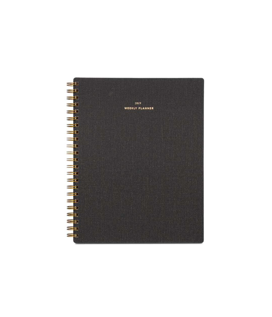 Weekly Notebook Planner in Charcoal Notebook planner