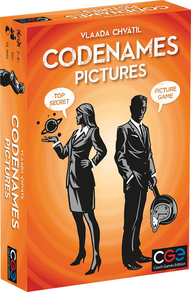 Codenames Pictures Toys & Games Board