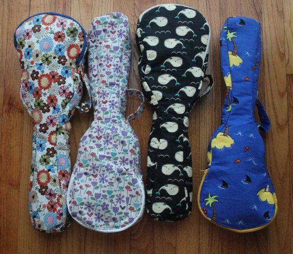 Ginny Only Ukelele Cases for Tenor Ukelele Custom Order on Etsy, $32.00