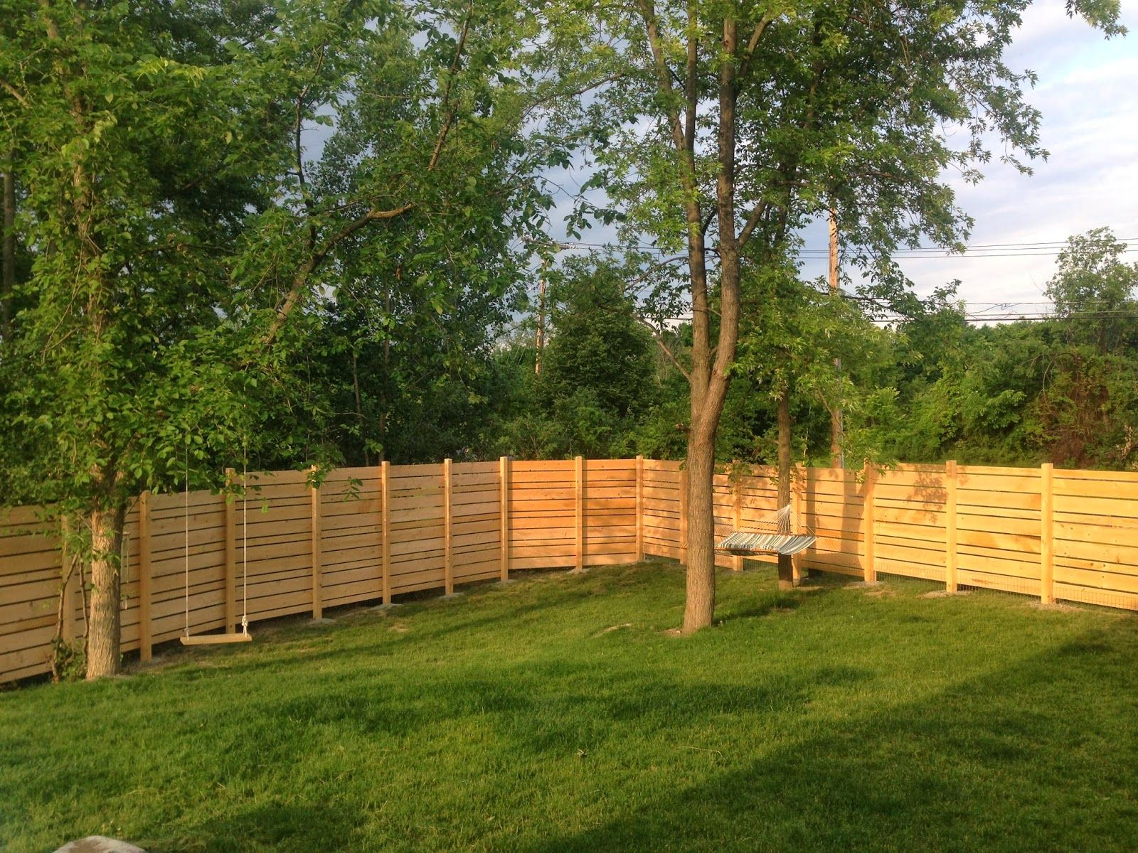 this lady u0027s diy backyard fence is beautiful functional and a