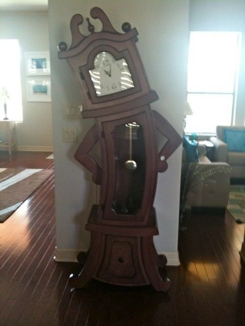 Sy Grandfather Clock Home Decor