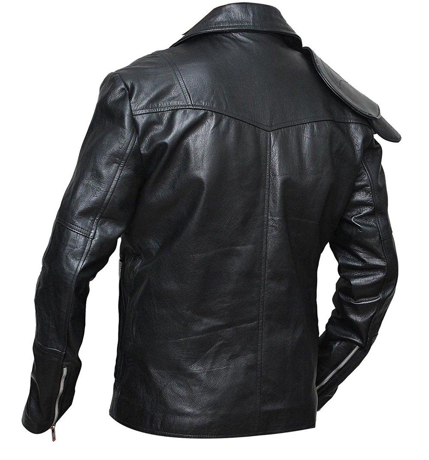 Mad Max Fury Road Motorcycle Synthetic Leather Jacket At Amazon Men S Clothing Store Leather Jacket Jackets Mad Max Costume [ 1500 x 1399 Pixel ]
