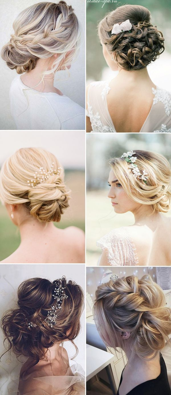 new wedding updo hairstyles for brides 2017 | Hair | Pinterest ...