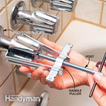 How To Fix A Leaking Bathtub Faucet Diy Home Repair Home Repair Faucet Repair