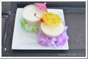 Birthday Beach Party! Pina Colada smoothie- non alcoholic | Recipes