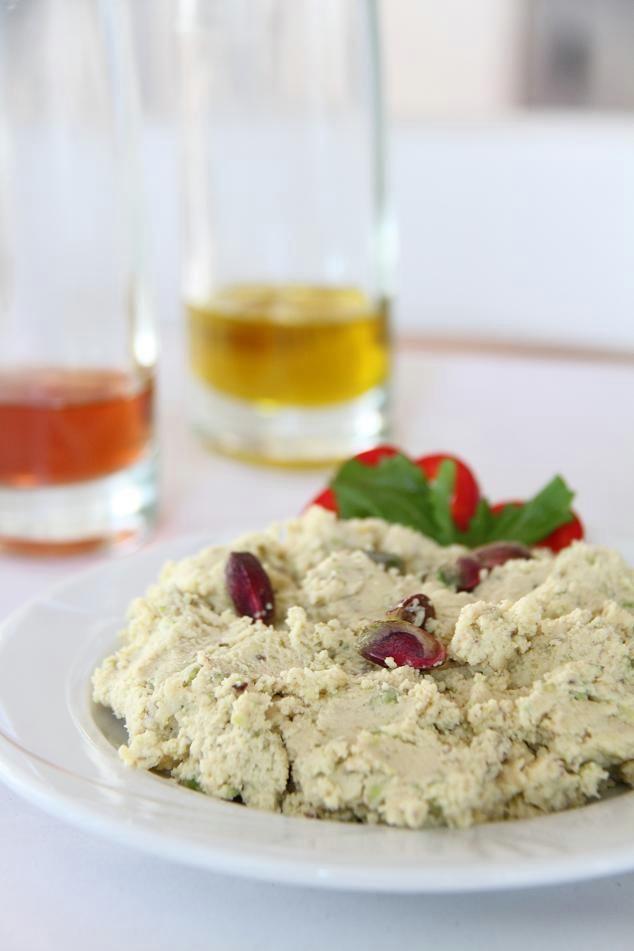 #Aegina pistachio and feta cheese spicy spread