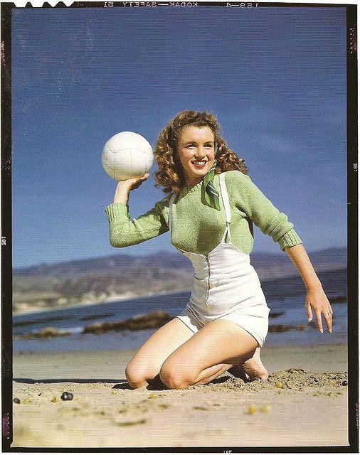 Norma Jeane before she became Marilyn Monroe