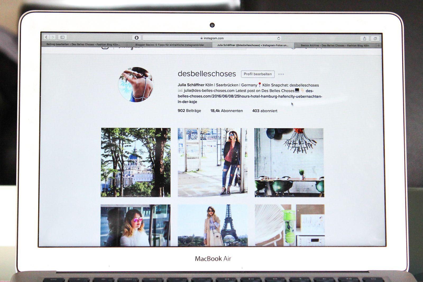 einheitliche Websites