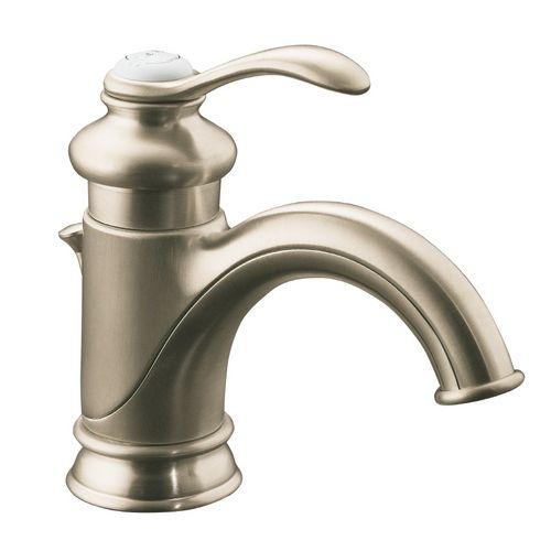 Kohler Fairfax Single Handle Bathroom Faucet Brushed Nickel 12182-BN New!