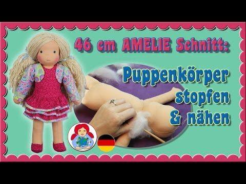Photo of DIY | Puppenkörper stopfen & nähen für Sami Schnitt AMELIE • Sami Doll Tutorials
