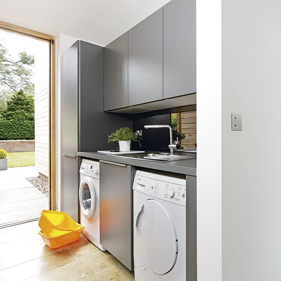 Grey Fitted Cabinets, Small