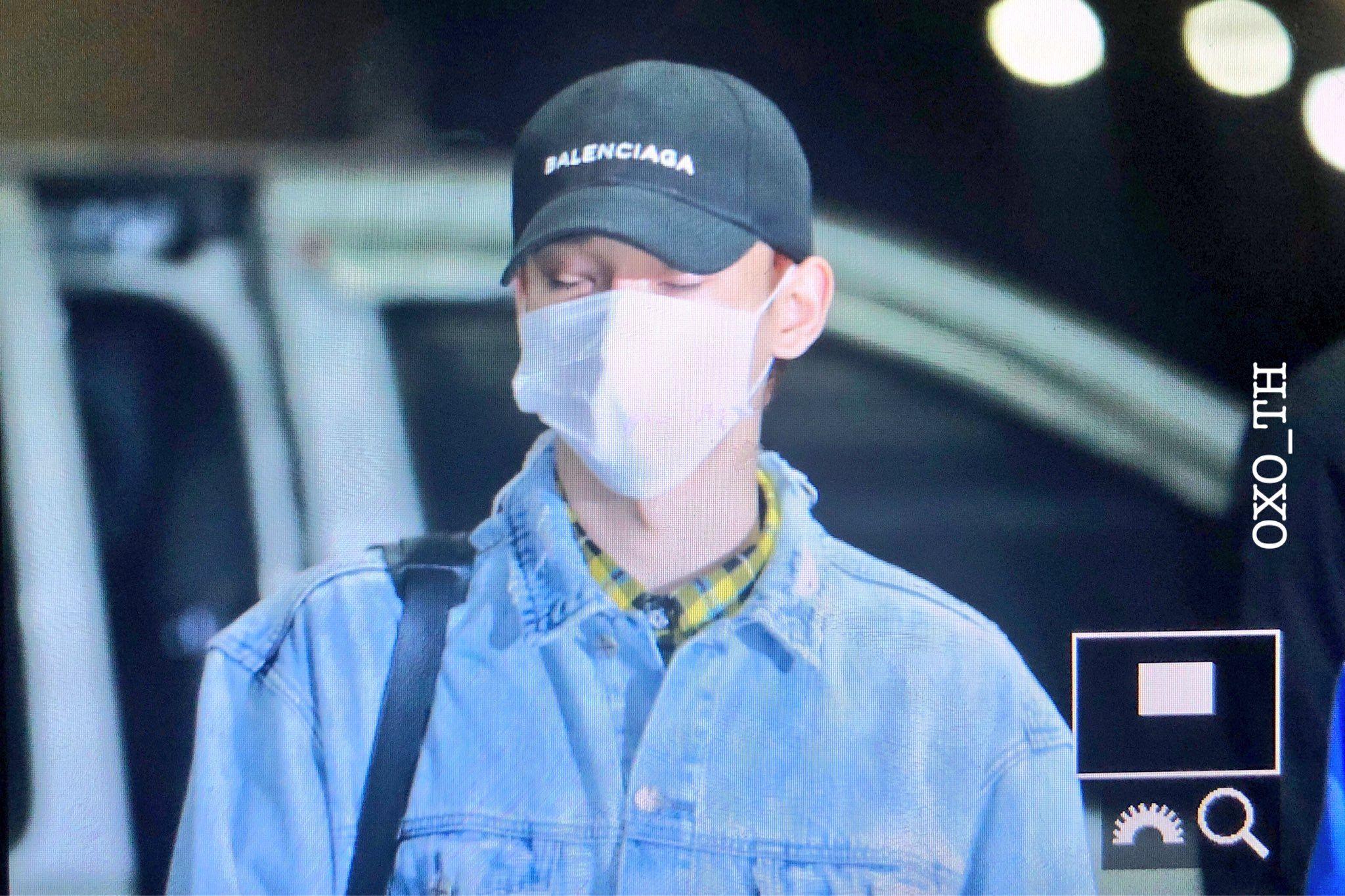 #Chen 180302 en el aeropuerto rumbo a Singapur