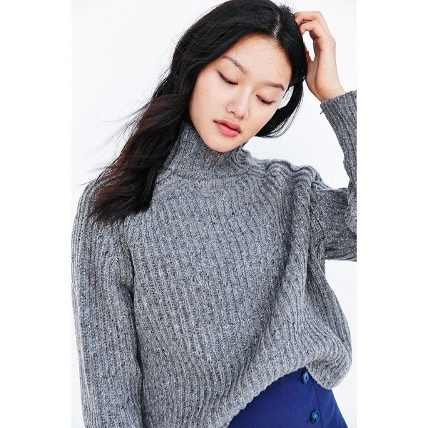 Silence   Noise Abigail Turtleneck Sweater ($79) ❤ liked on ...
