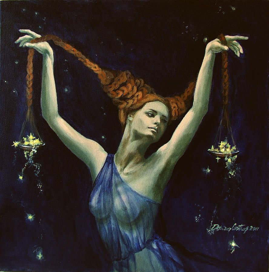 """Libra From Zodiac Series"" - By Dorina Costras"