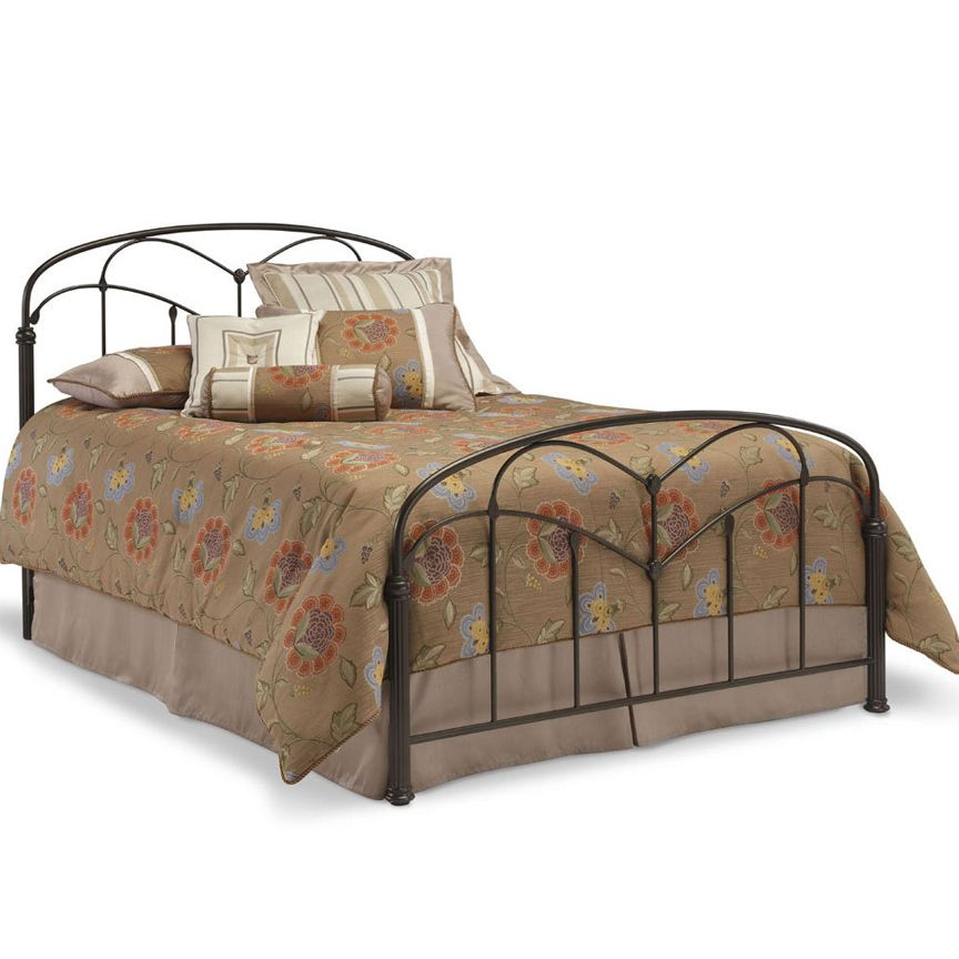 Pomona Metal Bed With Images Bed Styling King Metal Bed Queen Metal Bed