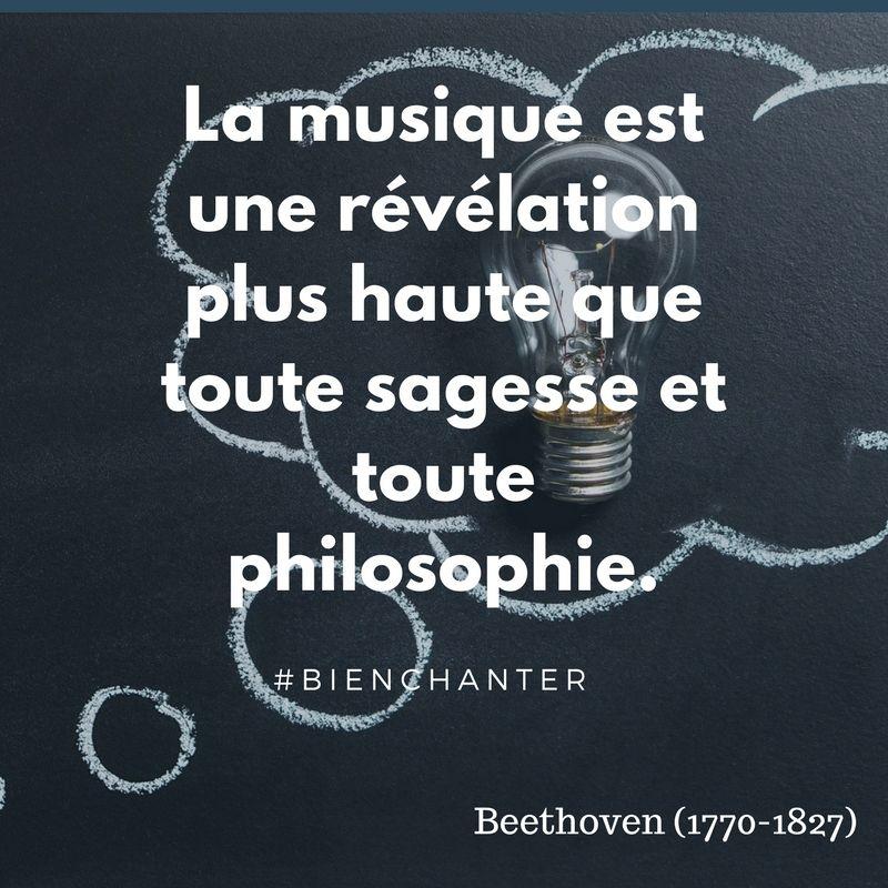 La Musique Est Une Revelation Plus Haute Que Toute Sagesse Et Toute Philosophie Bienchanter Si Citations Musique Proverbes Et Citations Citations Musicales