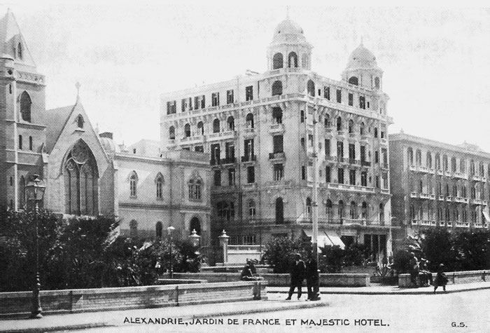 Majestic Hotel Alexandria Egypt In The Late 19th Or Early 20th Century Egypt Majestic Hotel Ancient Egypt History
