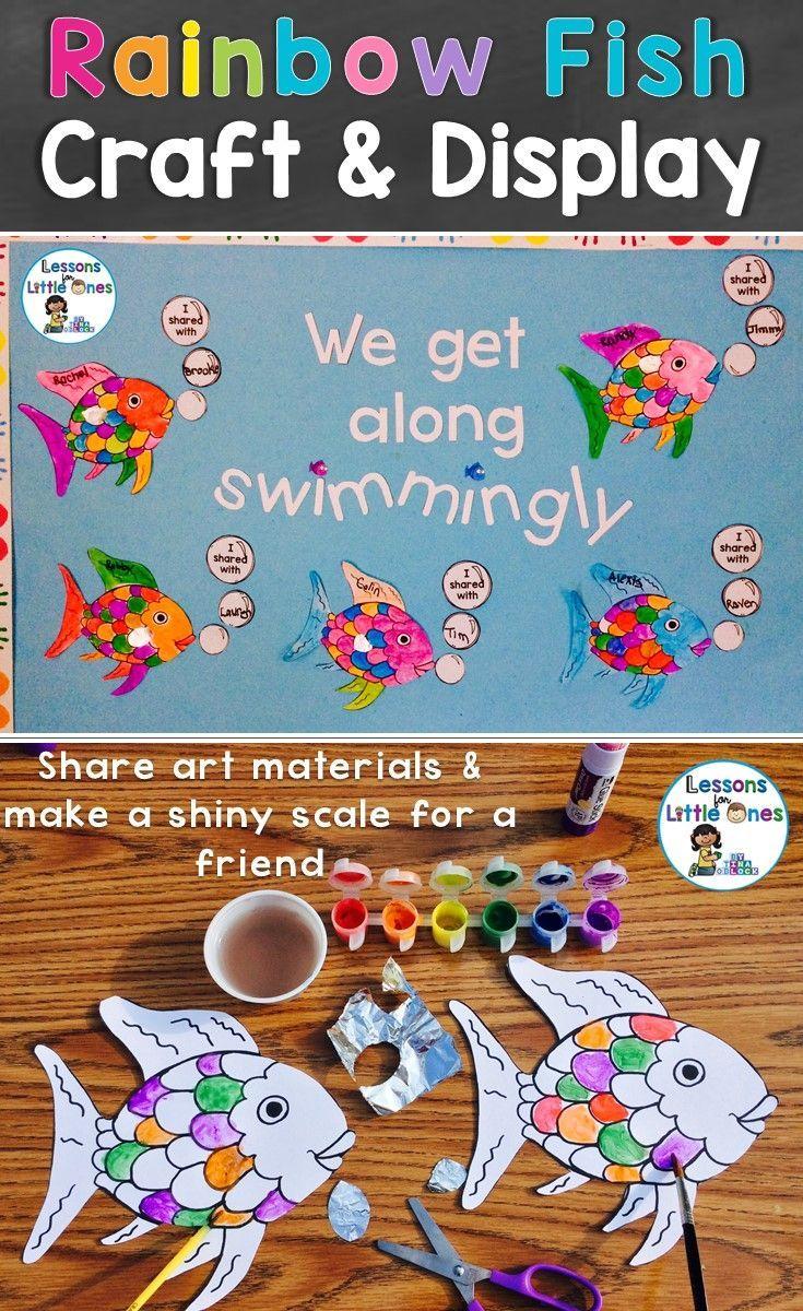 Rainbow Fish Sharing Activity & Classroom Display ...