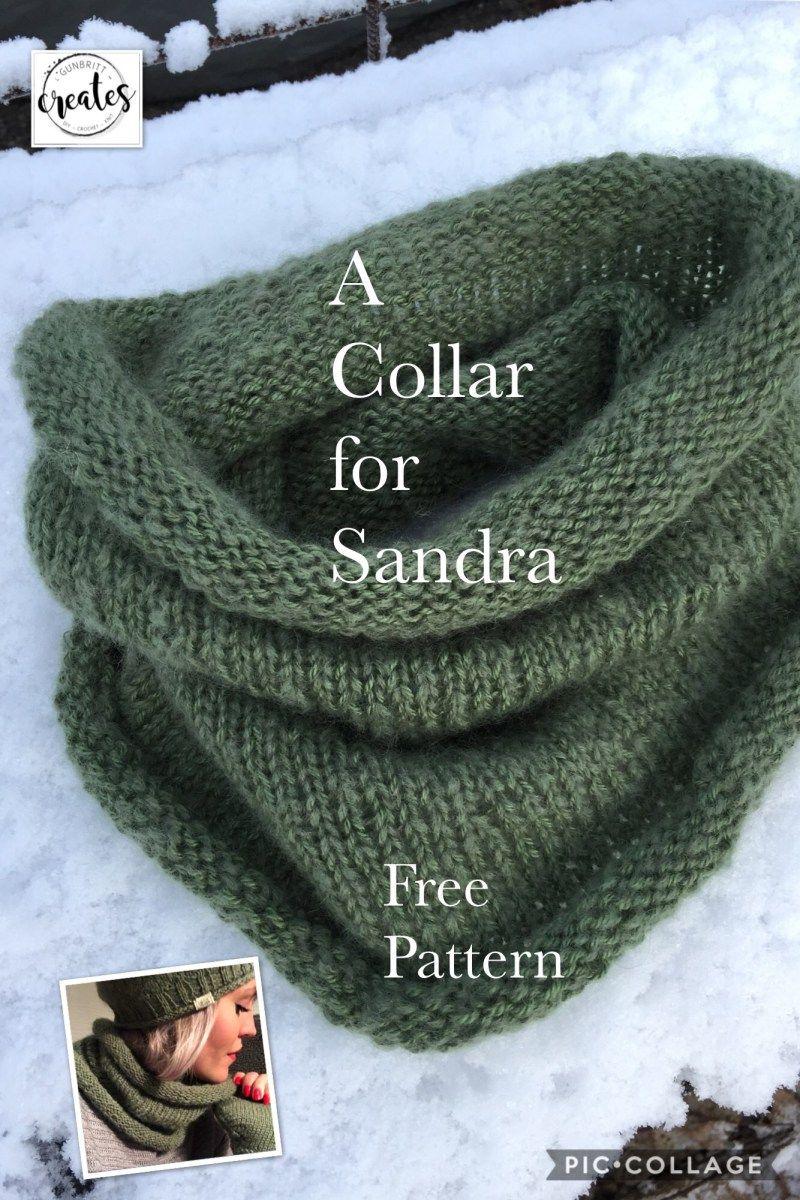 A Collar for Sandra | Knitting | Pinterest | Tejido, Tejer bufandas ...