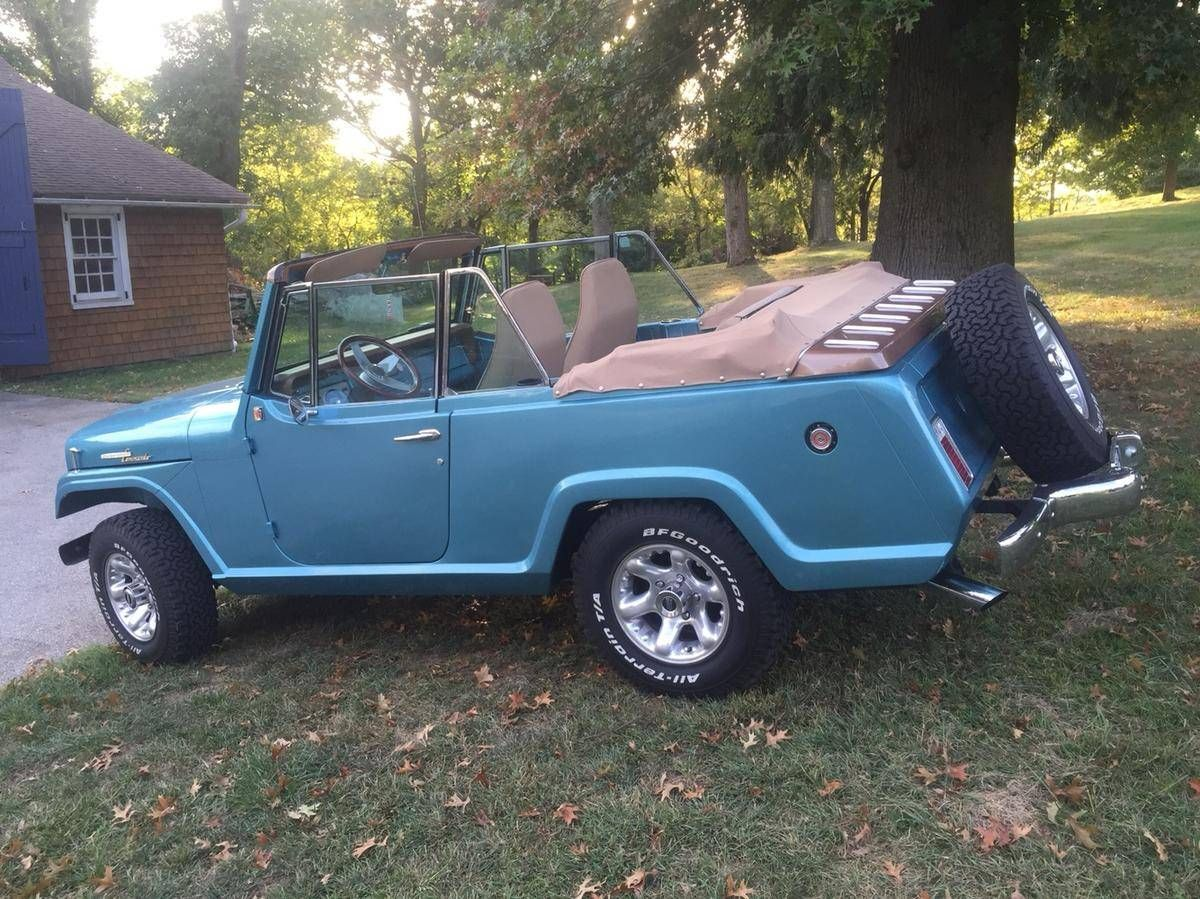 1967 Jeep Jeepster 8701 Commando Convertible For Sale 1765544
