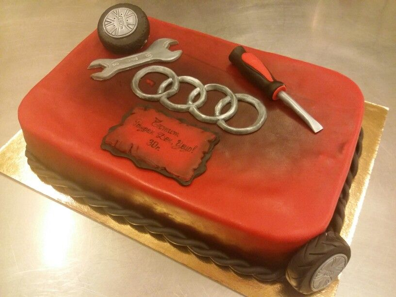 audi cake | cakes | pinterest | cake, birthday cakes and food