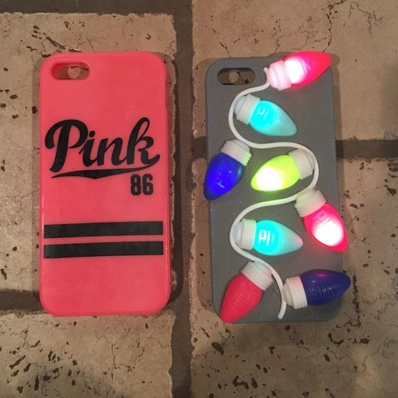 new products 71363 9ee8f iPhone5/5s cases extremely festive light up Victoria secret case and ...