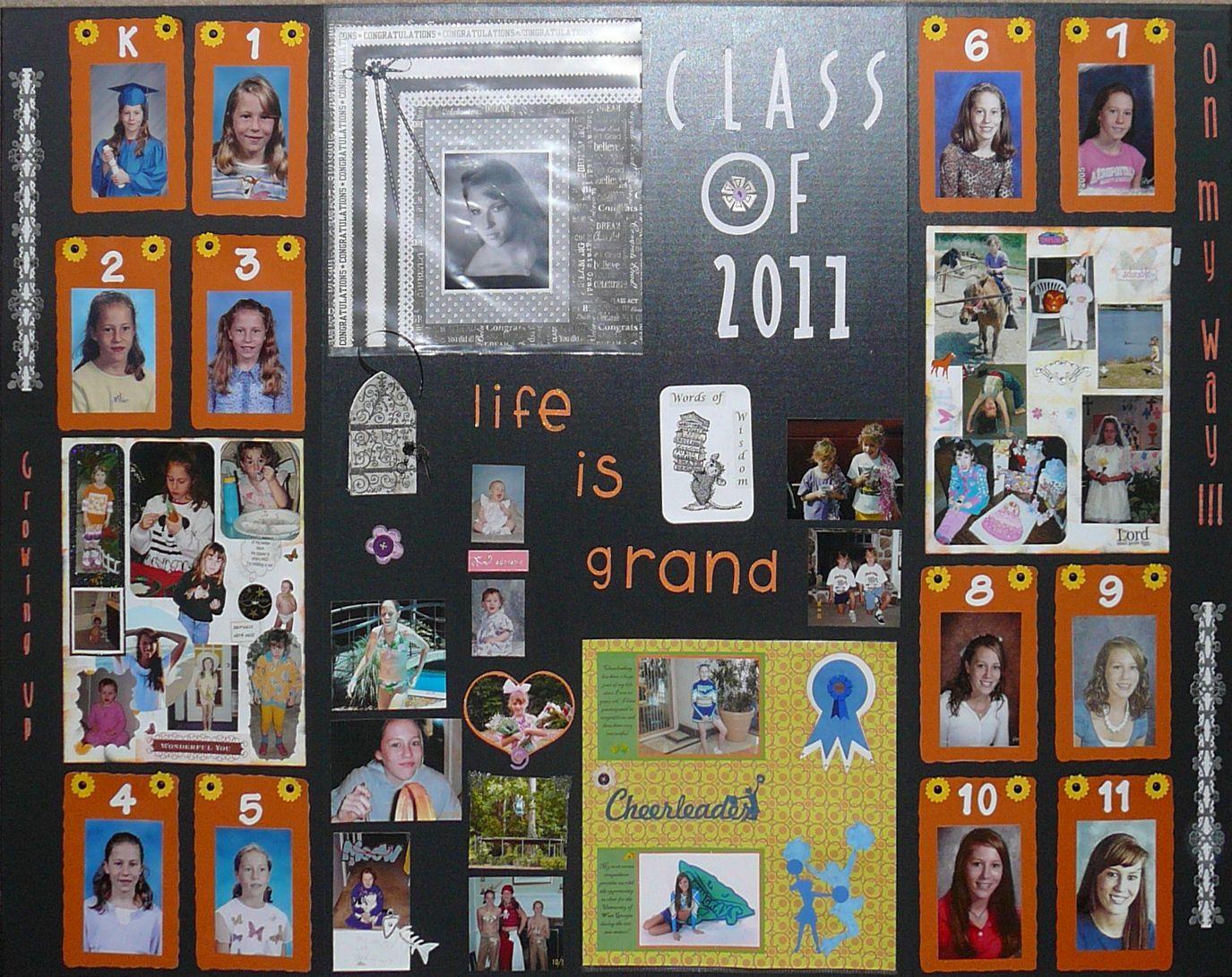 Scrapbook ideas graduation - Graduate Display Board Scrapbook Com Graduation Ideas