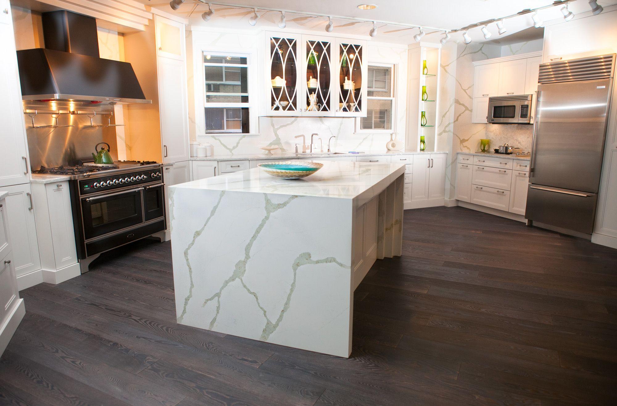 Best Bq8270 Calacatta Vicostone Quartz Countertops 400 x 300