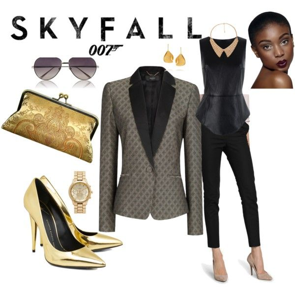 casino royale bond girl outfit