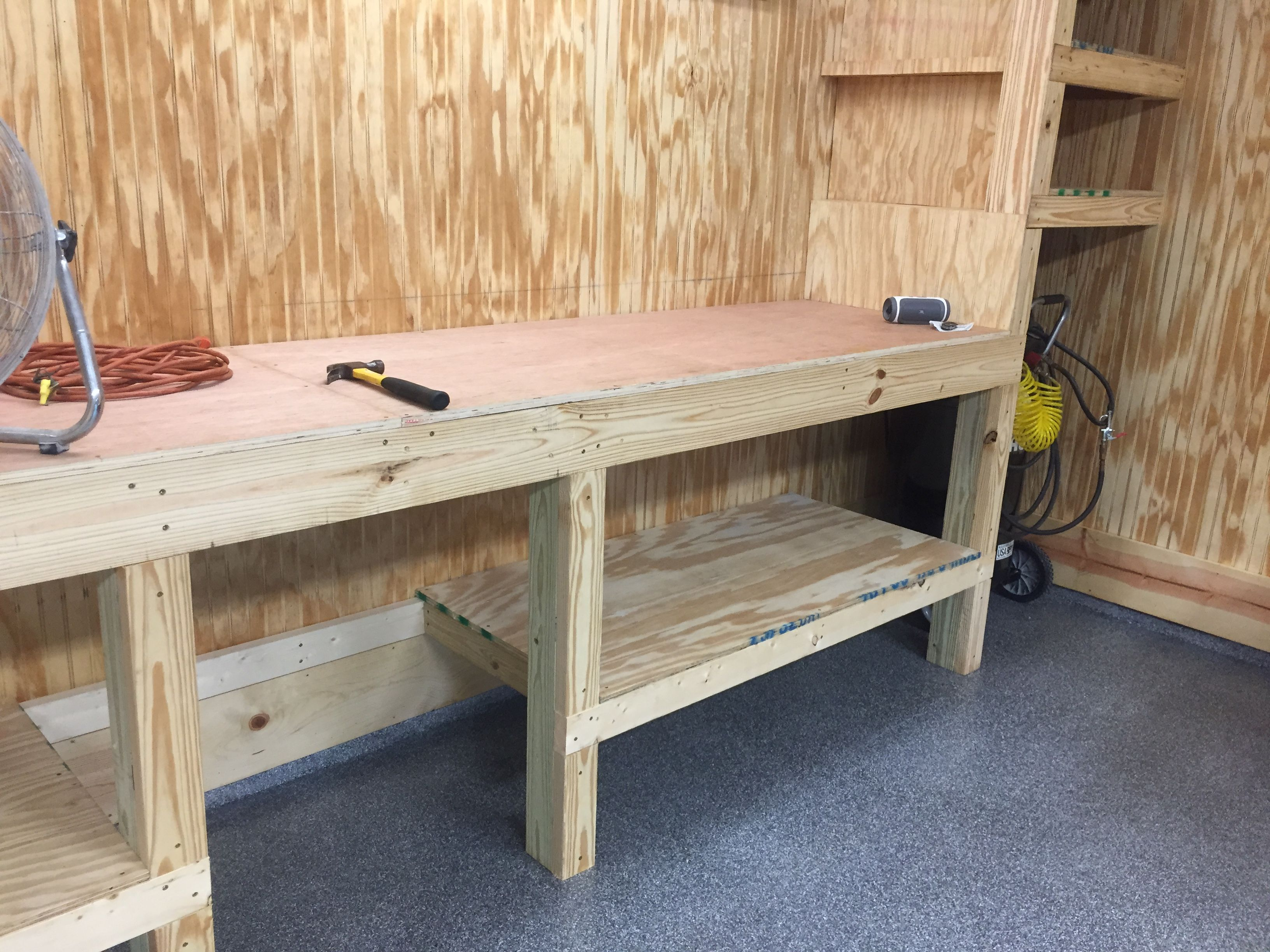 Pin By Marcone De Castro Ribeiro On My Projects Garage Workbench Plans Garage Organization Diy Garage Decor