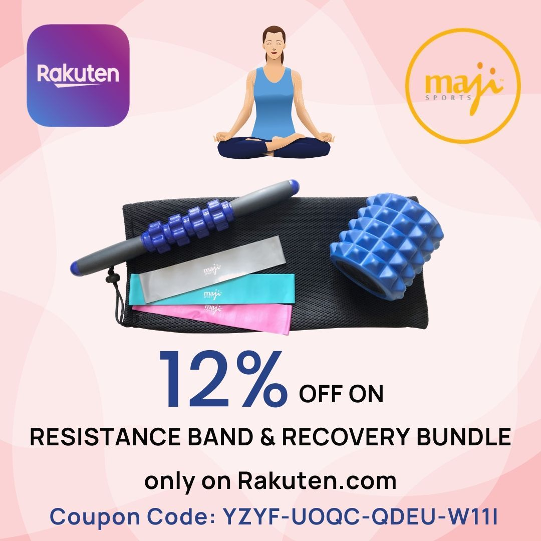 12 Off On Resistance Band Recovery Bundle Wellness Design Workout Accessories Resistance Band