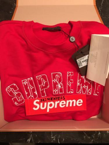 6824250b467f Supreme x Louis Vuitton Arc Logo Crewneck Size XL 100% authentic ...
