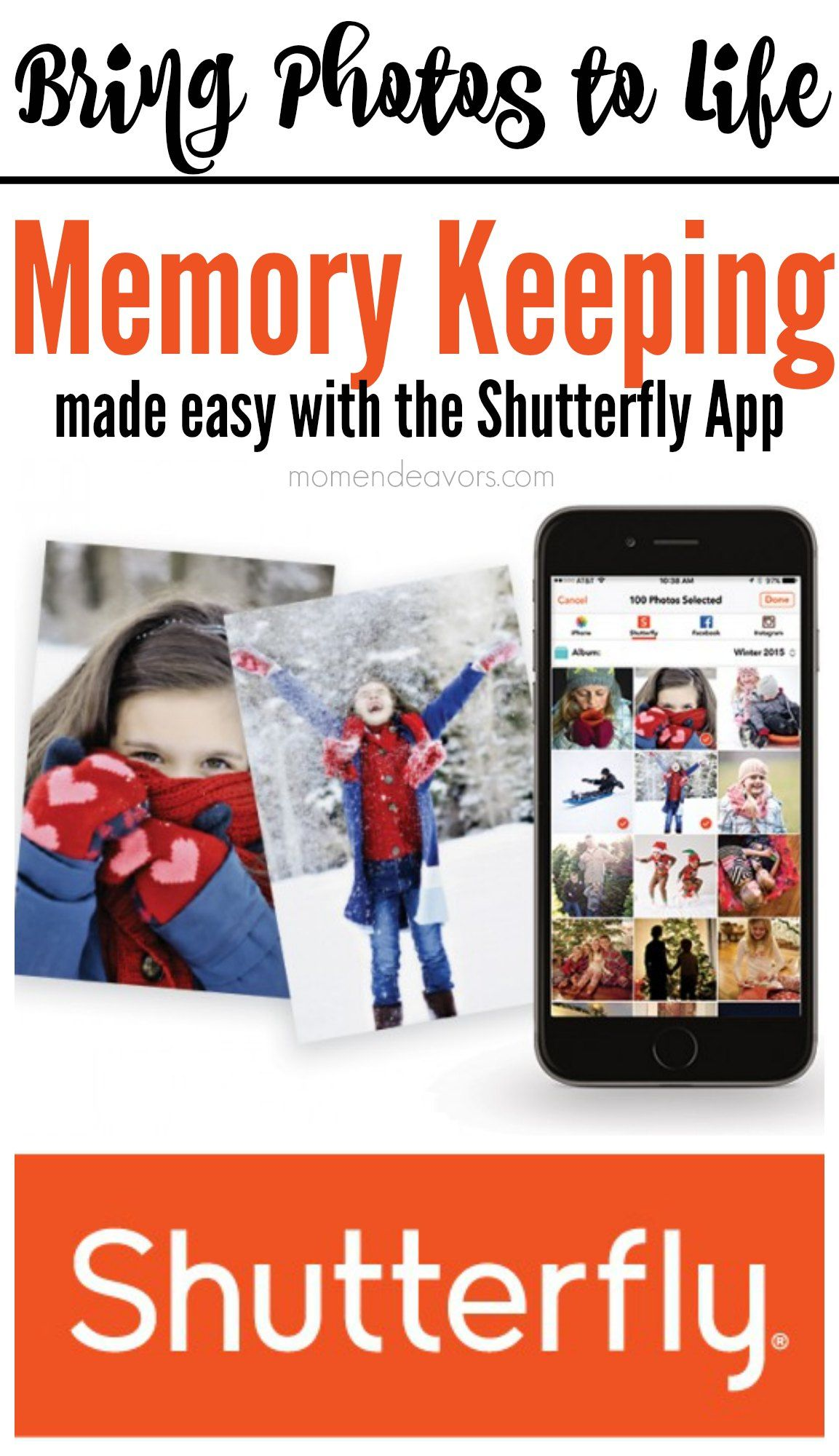 Memory Keeping made easy with the Shutterfly App! Plus get