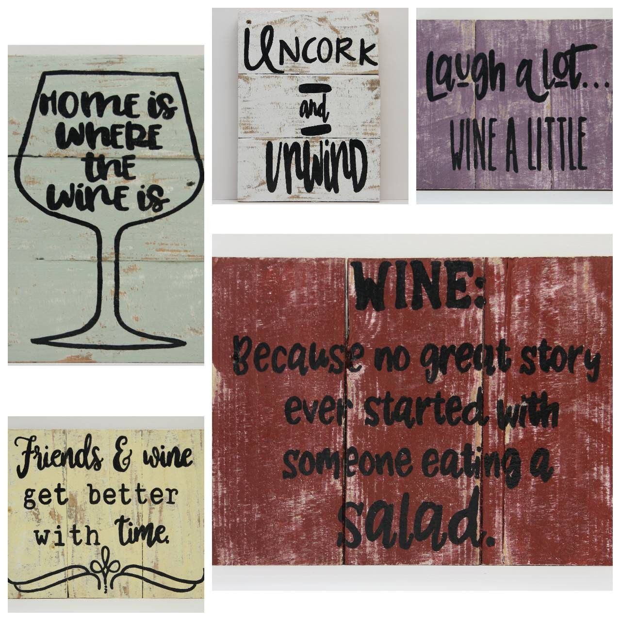 Your Place To Buy And Sell All Things Handmade Wine Signs Wine Gifts Wine Art