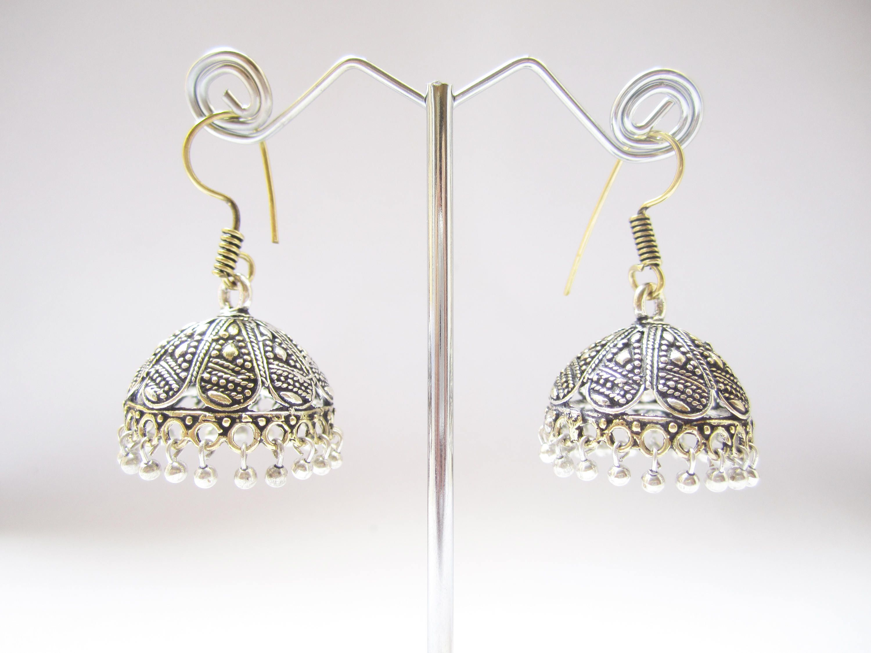 20 best Earrings images on Pinterest | Bollywood, Antique silver ...