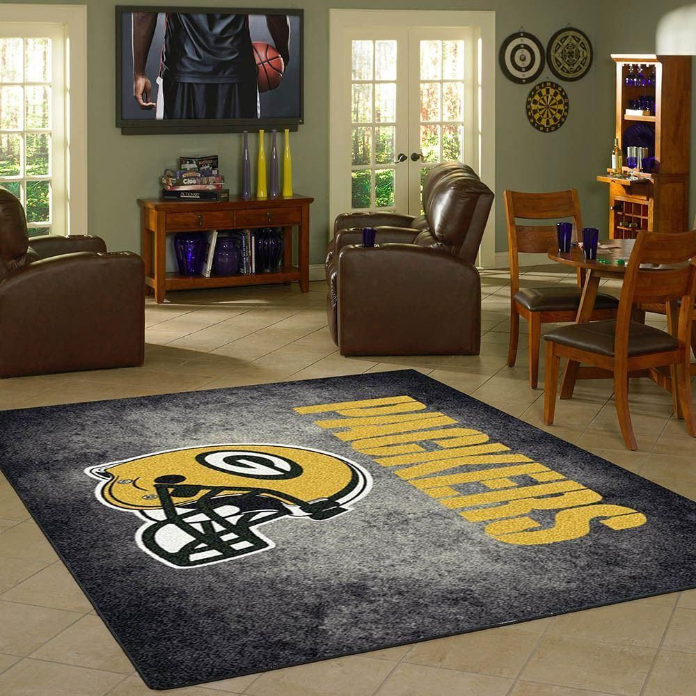 Green Bay Packers Distressed Area Rug Green Bay Packers Area Rugs Rugs Kids Rugs