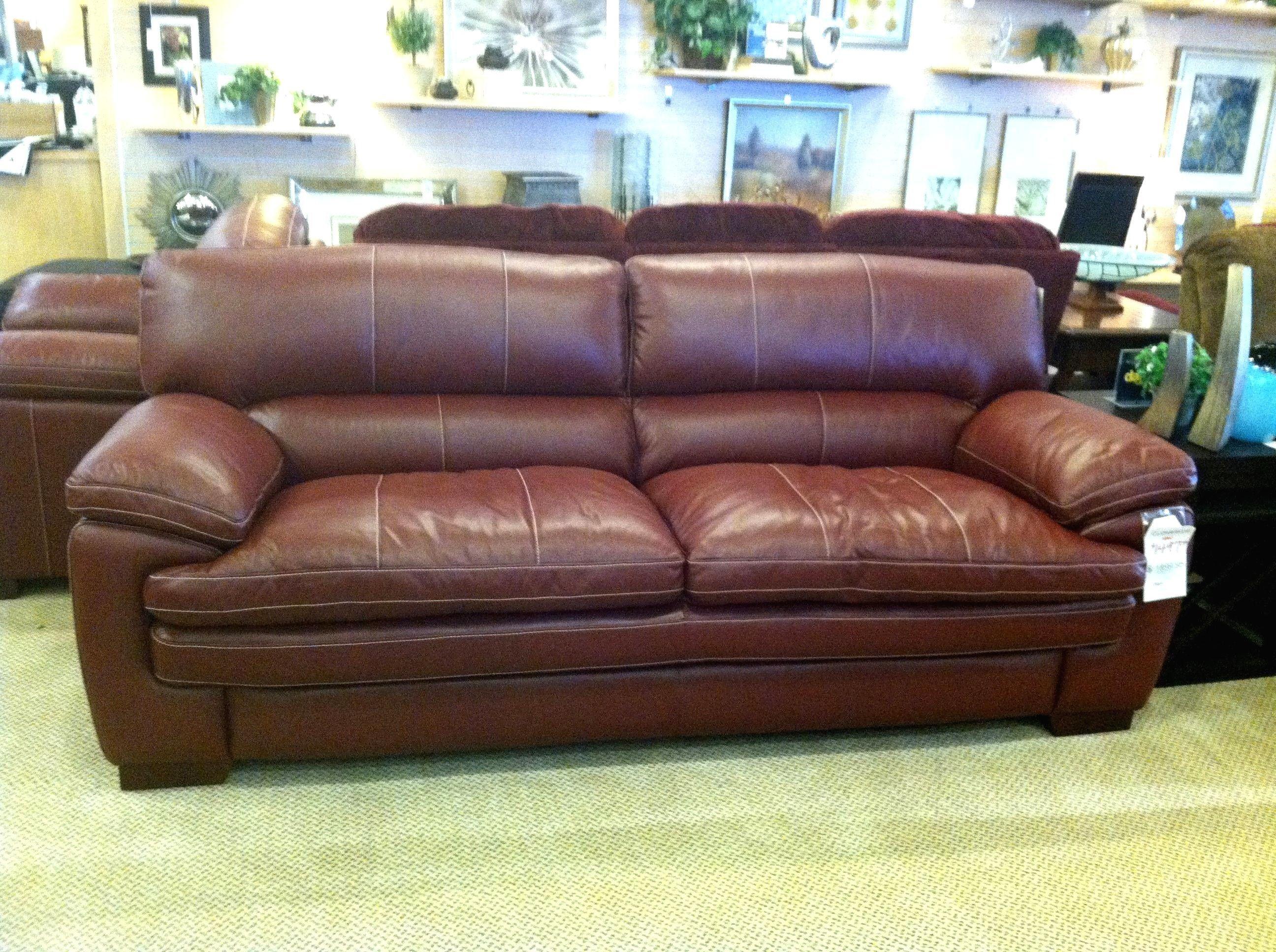 La Z Boy Leather Sleeper Sofa