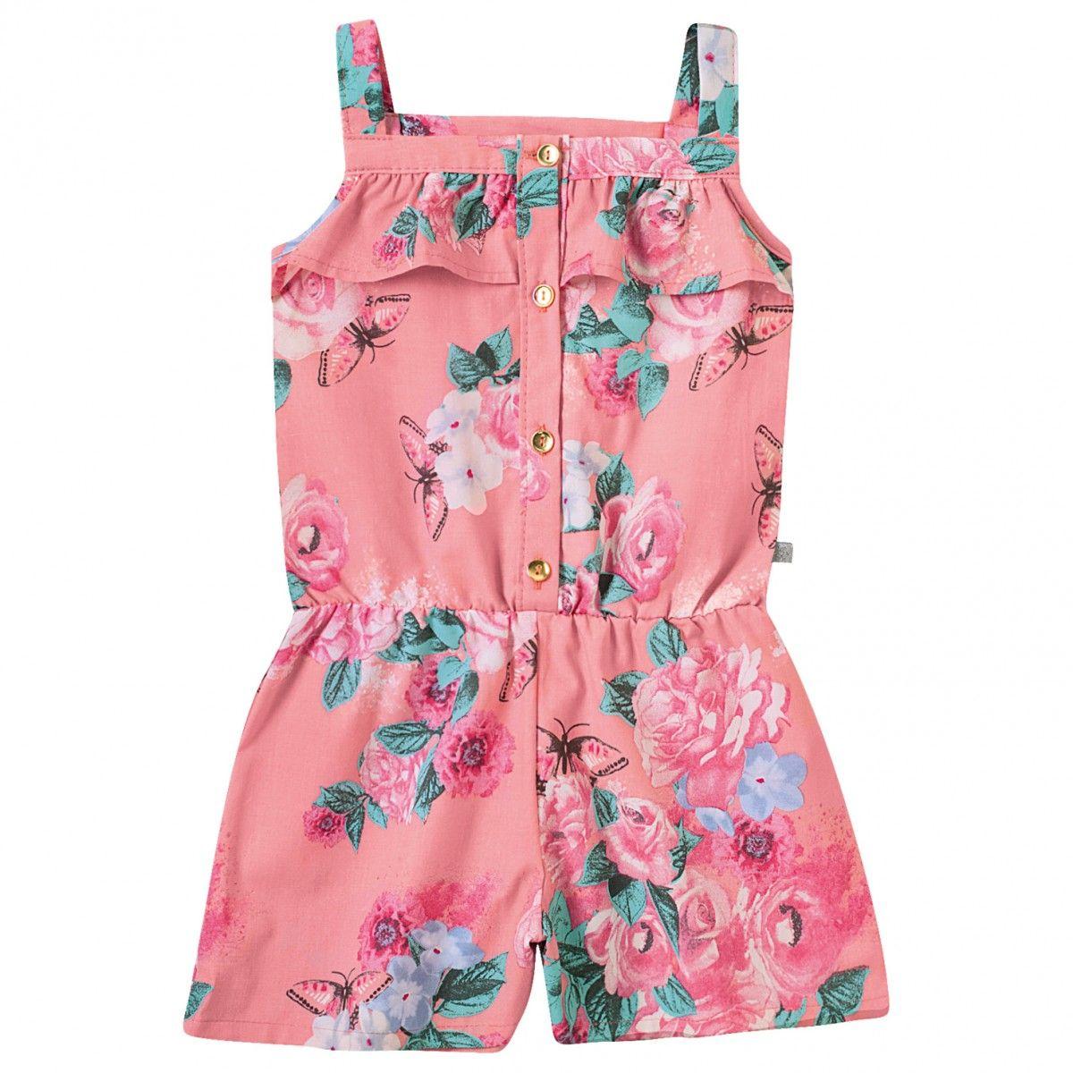 6825544fa macacão infantil feminino de tecido - Pesquisa Google | ropa de niña ...